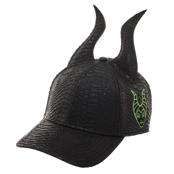 Maleficent Dragon Scale W Horns Hat Disney